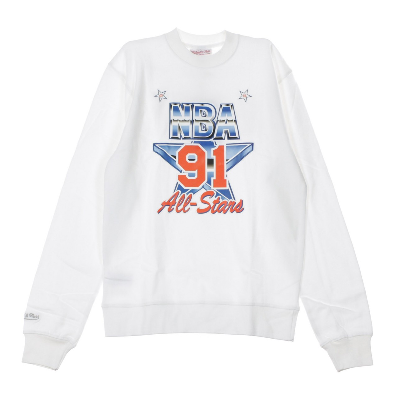MITCHELL & NESS ASG CREW FLEECE ALL STAR EAST 1991 BMFCMM18375-ASEWHIT