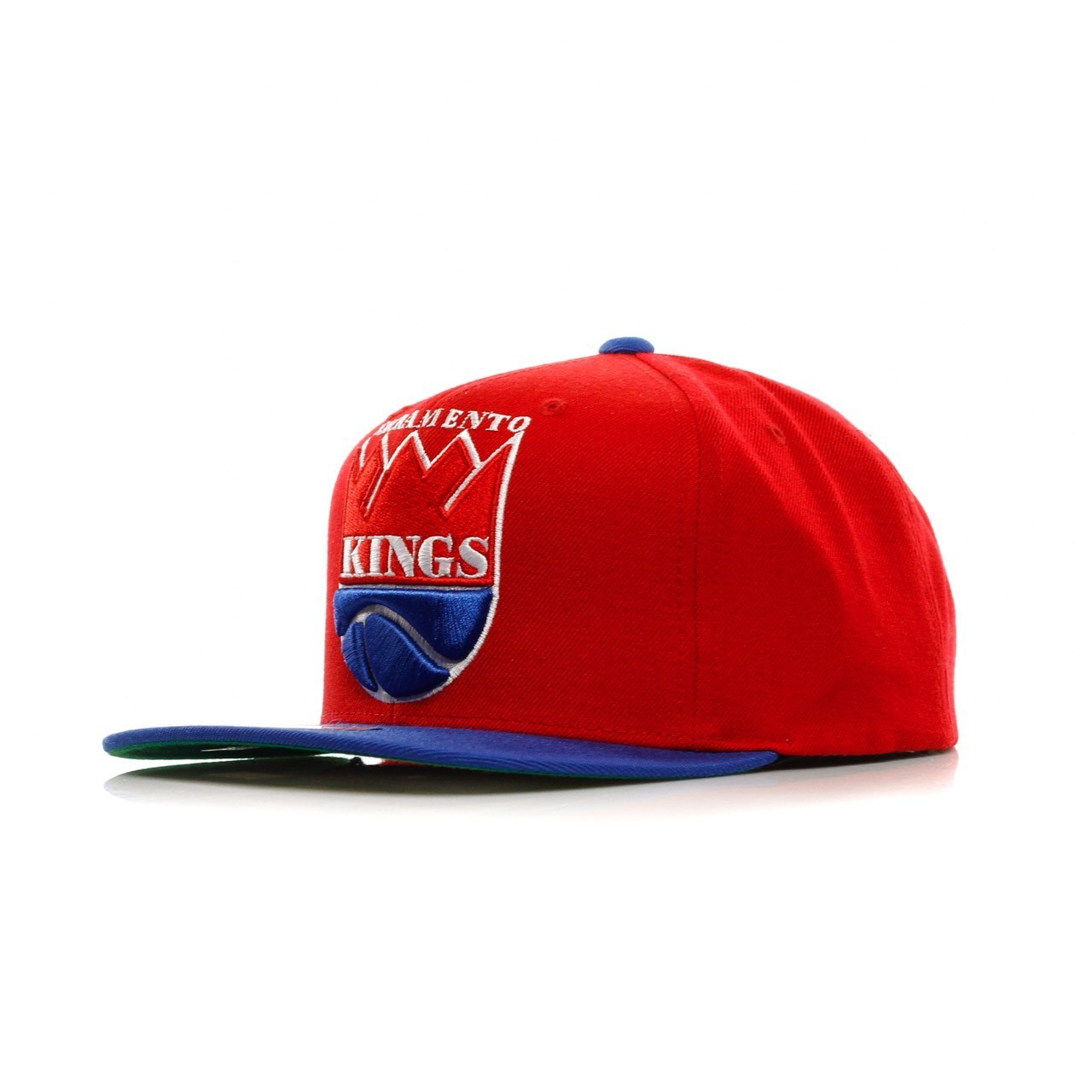 MITCHELL & NESS NBA XL LOGO 2 TONE SNAPBACK SACKIN MN-HWC-NJ16Z-5KINGS-MTC