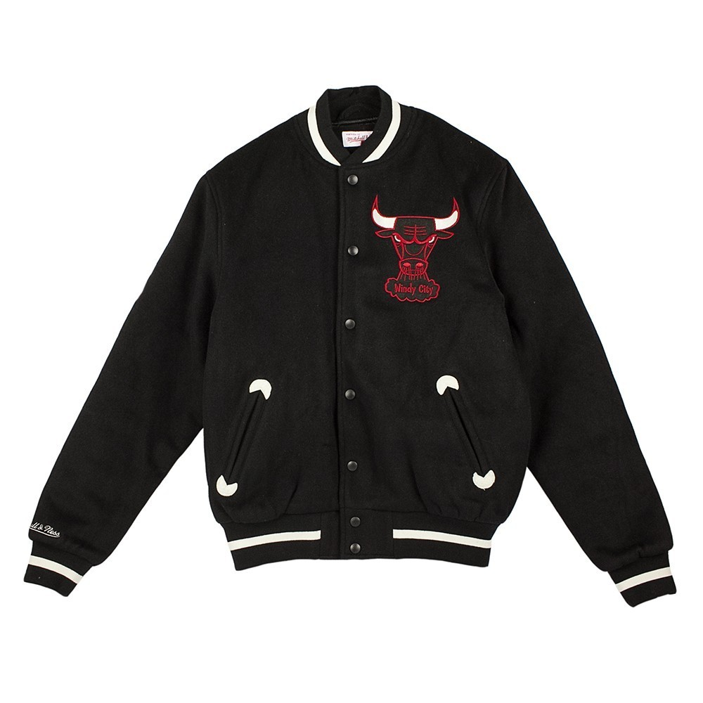 MITCHELL & NESS IN THE STANDS VARSITY JACKET CHIBUL 195717