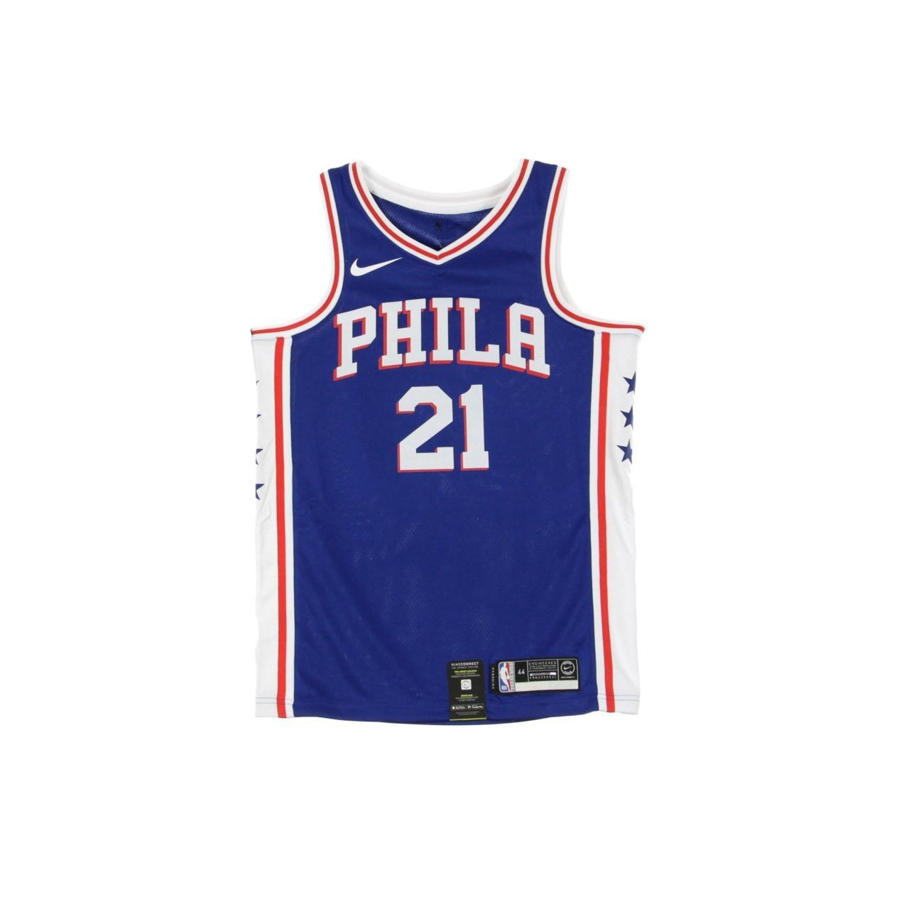 NIKE NBA NBA SWINGMAN JERSEY ICON EDITION NO 21 JOEL EMBIID PHI76E ROAD CJ7678-498