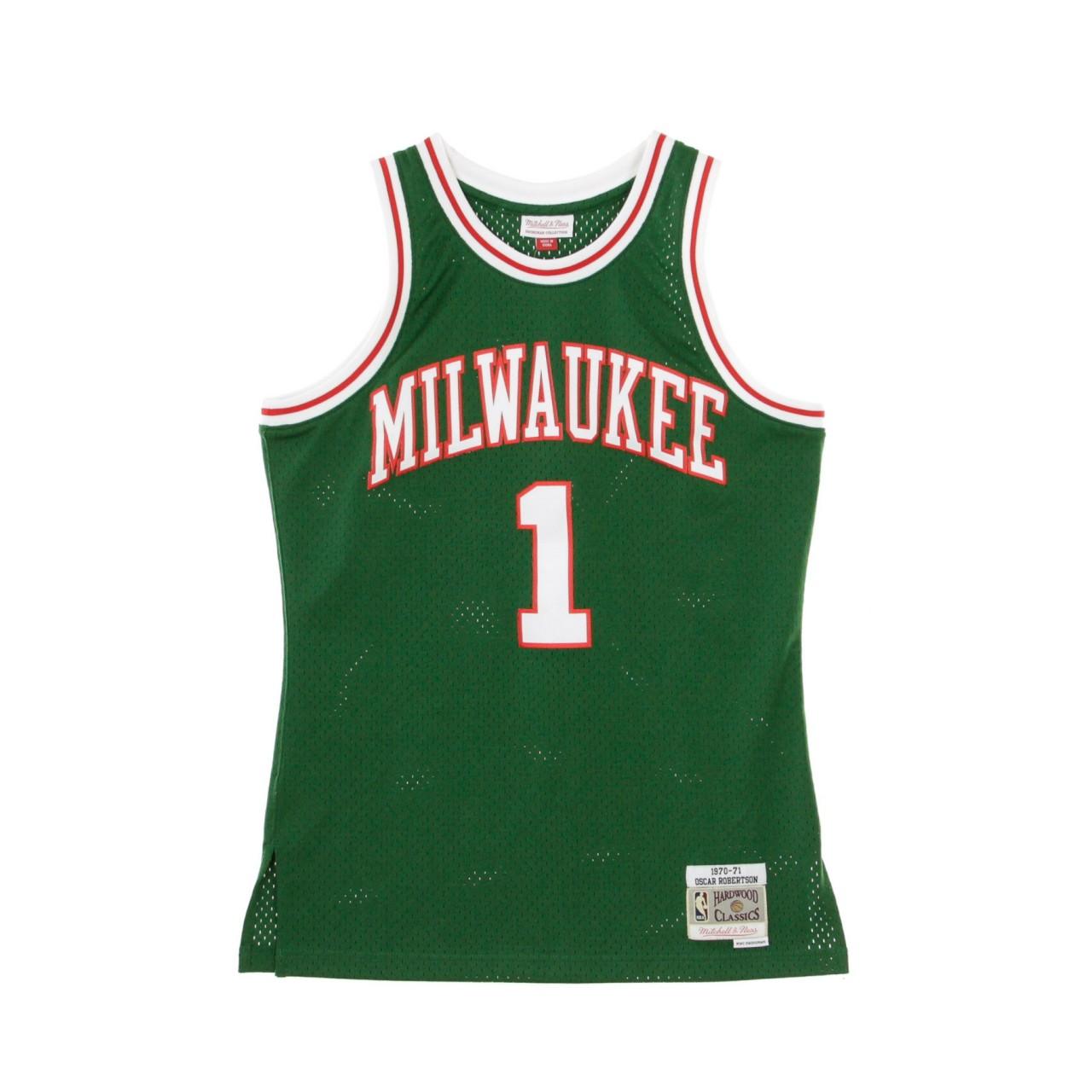 MITCHELL & NESS NBA SWINGMAN JERSEY OSCAR ROBERTSON NO.1 1970/71 MILBUC 111111 JERSEY MILBUC