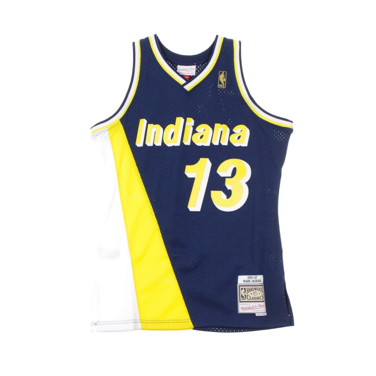 MITCHELL & NESS NBA SWINGMAN JERSEY MARK JACKSON NO.13 1996-97 INDPAC ROAD BA84V6-IPA-B-CB3