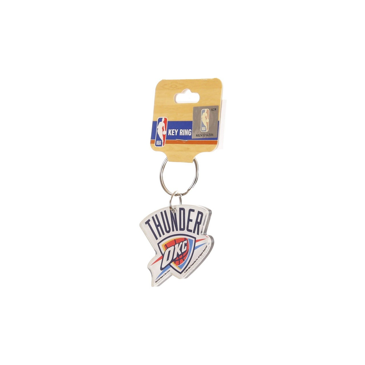 WINCRAFT NBA KEY RING LOGO OKLTHU 100032085212474