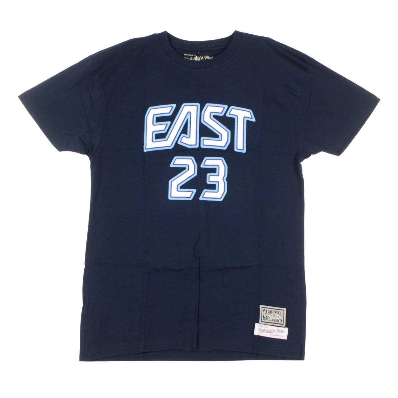 MITCHELL & NESS NBA NAME & NUMBER TEE NO.23 LEBRON JAMES ALL STAR EAST 2009 BNN3SC18158-ASENAVY09LJA