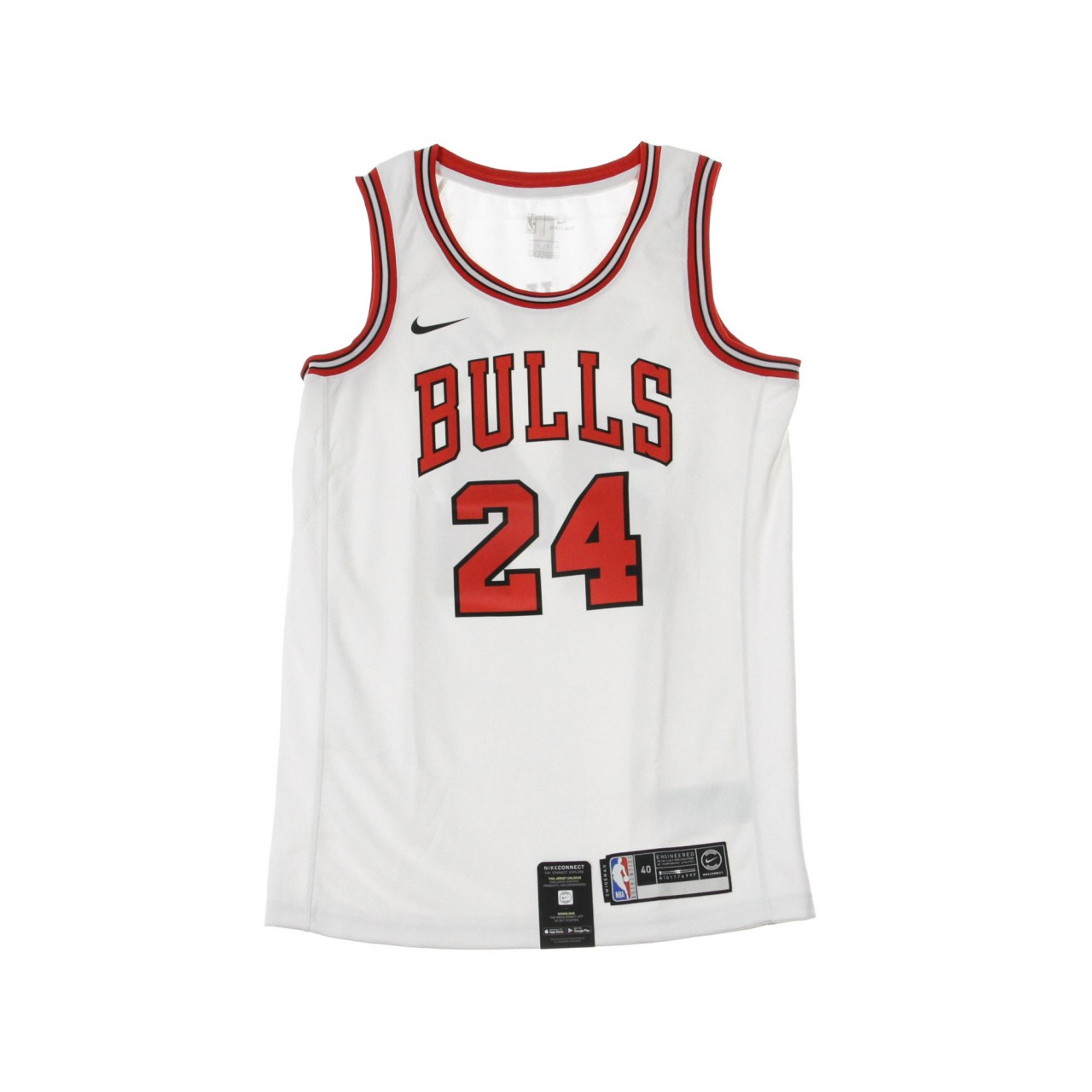 NIKE NBA NBA SWINGMAN JERSEY ASSOCIATION EDITION NO 24 LAURI MARKKANEN CHIBUL HOME 864407-103