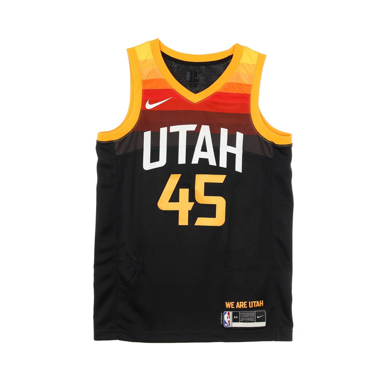 NIKE NBA NBA SWINGMAN JERSEY CITY EDITION 2020 NO 45 DONOVAN MITCHELL UTAJAZ CN1800-011