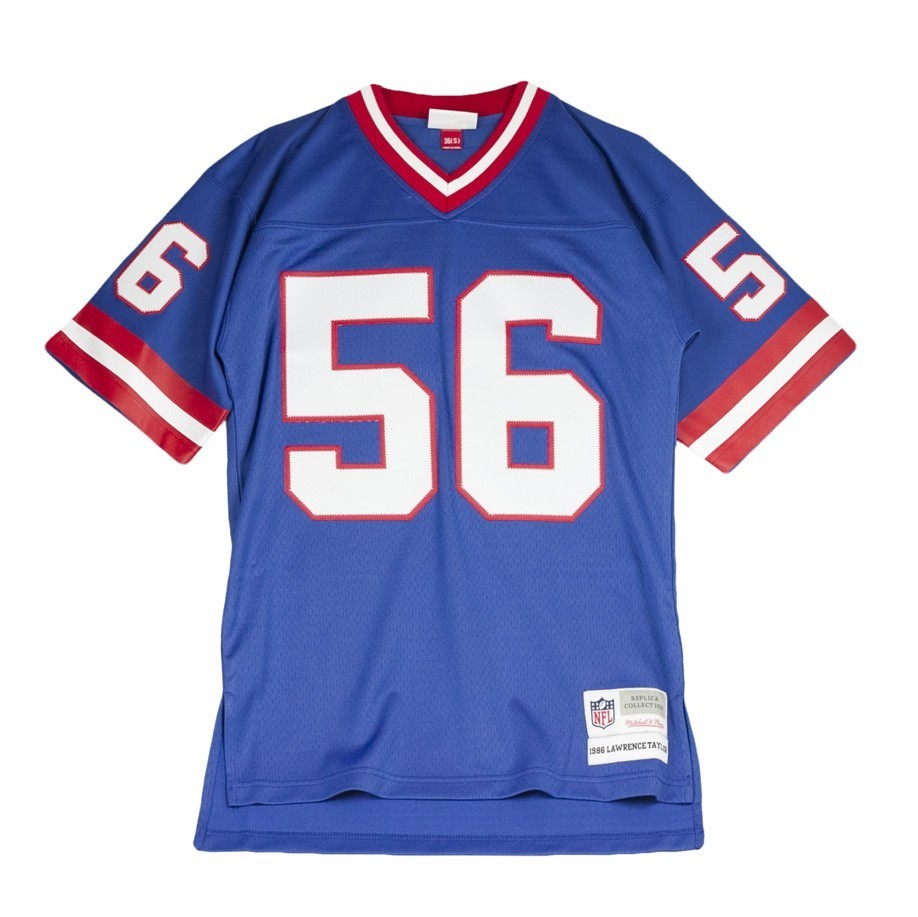 MITCHELL & NESS NEW YORK GIANTS 1986 LAWRENCE TAYLOR NO 56 NFL-7354-86LTAYL-NYGIAN-ROY