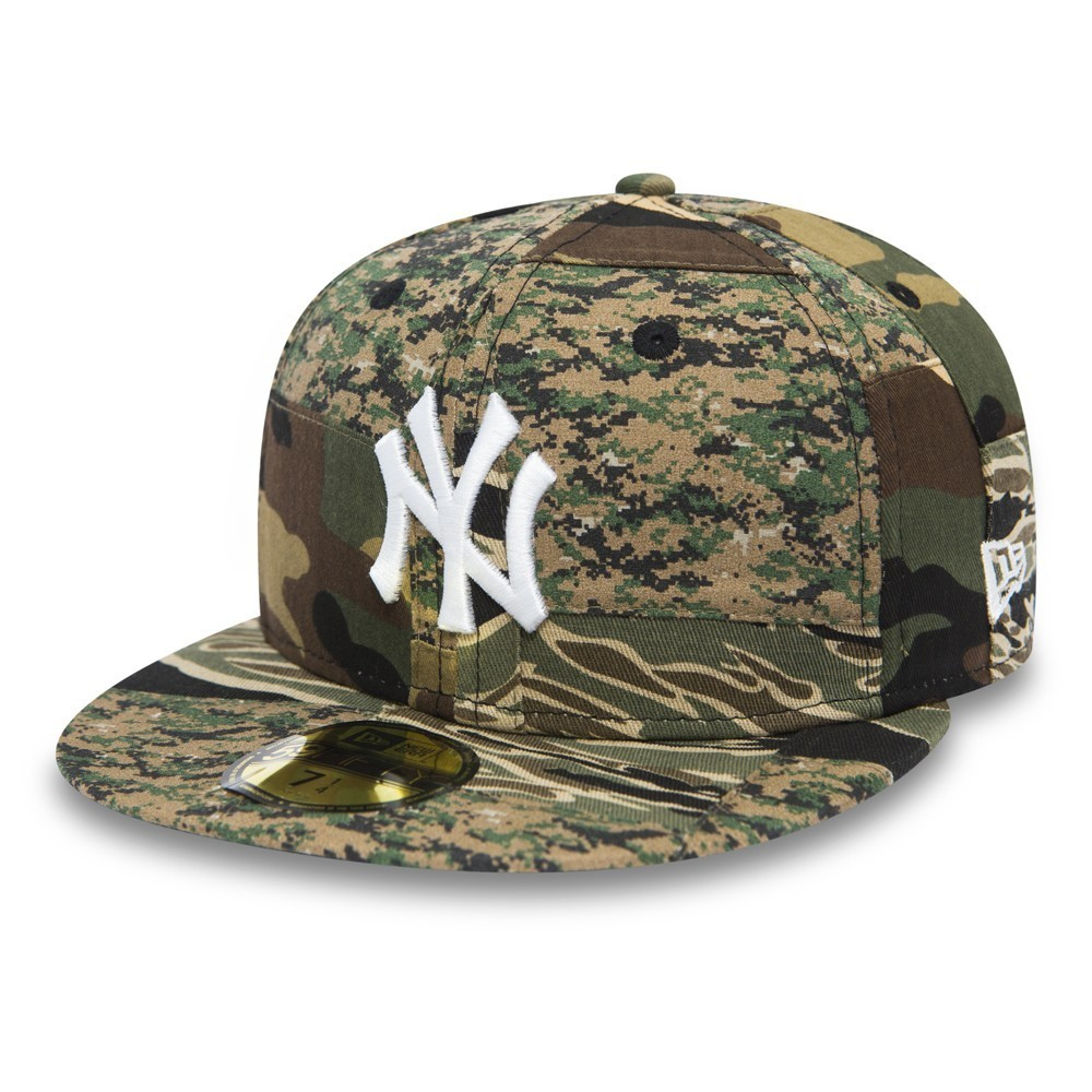 NEW ERA PATCHWORK CAMO FITTED NEYYAN 59FIFTY 80469121