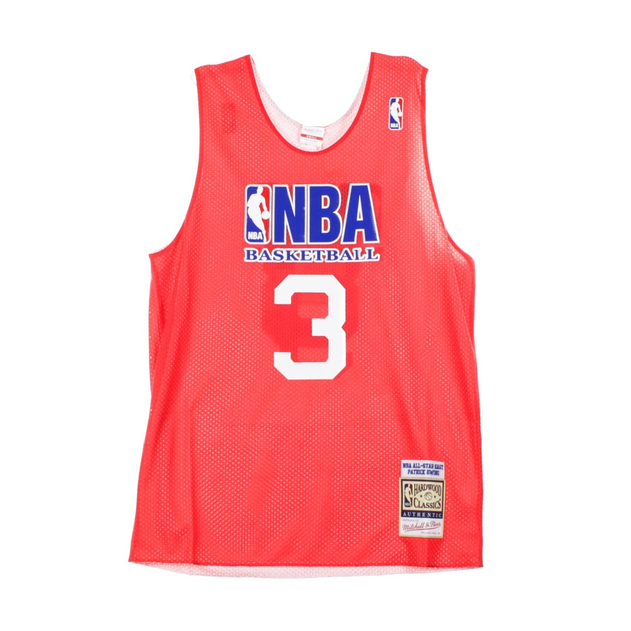MITCHELL & NESS REVERSIBLE PRACTICE JERSEY NO.3 PATRICK EWING ALL STAR GAME EAST 1991 ARPJEL18001-ASGSCWH91PEW